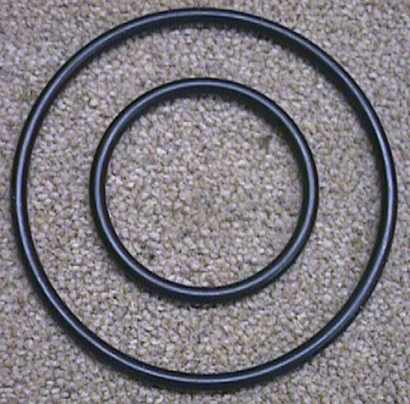 Leslie Motor O Rings for Decorator Cabinet - Pair