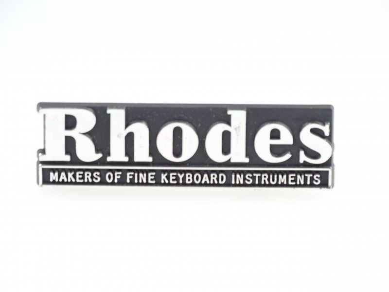 Fender Rhodes small (Name Rail) Logo