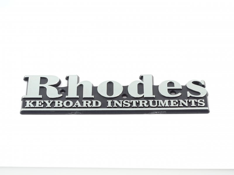 Fender Rhodes large (back side) Logo