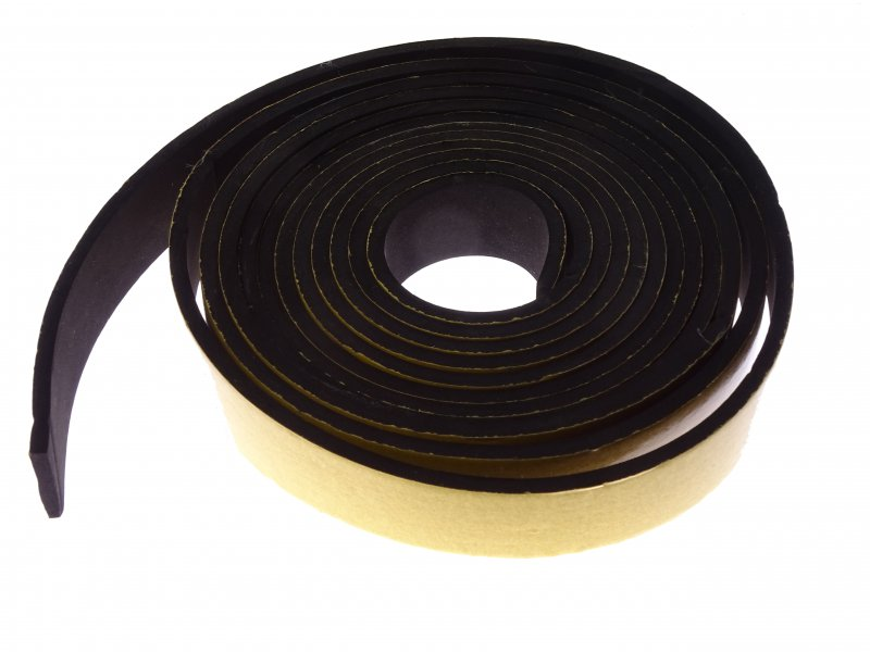 Rubber anti vibration tape 5mm (10cm)