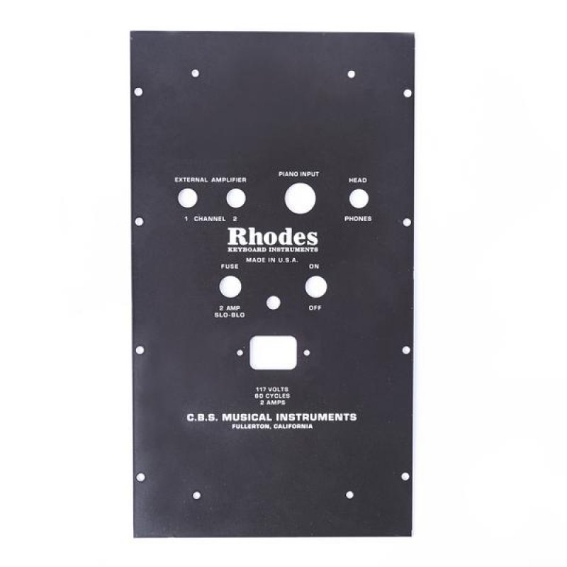 Rhodes 4 pin Suitcase PSU Faceplate