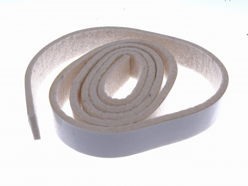 R. Damperrail Felt strip